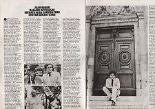 Coupure de presse Clipping 1978 Jean Edern Hallier  (2 pages)
