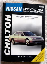 Chiltons Nissan 240SX/Altima Workshop Manual