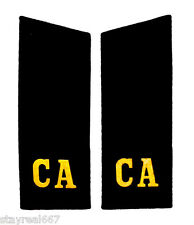 Authentic Pair of Soviet Army Russian Shoulder Boards Military Uniform Straps