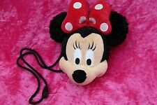 Disney Parks MINNIE MOUSE Monedero Con Cierre Suave Felpa Juguete Clubhouse