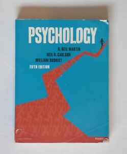 Psychology by Neil R. Carlson, G. Neil Martin, William Buskist (Paperback, 2013)
