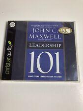 Leadership 101 by John Maxwell (2009, CD, Unabridged)