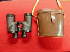 Vintage Rare Nikon 7x50 7.3 I If With Scale Binoculars & Leather Case Near Mint