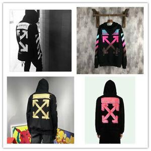 AU stock Men Women Off white Hoodie jumper Sweater Hip-hop streetwear Pullovers