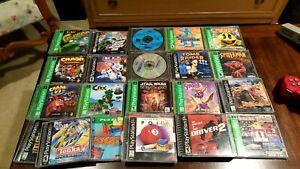 Sega Genesis/PlayStation 1 and 2/Sega CD Games and Accessories Lot