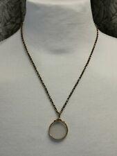 Marco De Fotos Colgante de oro de 9ct en 9ct Collar de Cadena de oro 6.1gm.