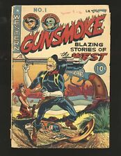 Gunsmoke # 1 - Ingels bondage cover Fair Cond.