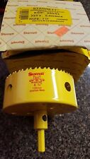 "Starrett 65544  Bearcat  Hole Saw 4 1/4"" Arbored"