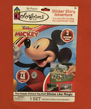 DISNEY JUNIOR MICKEY MOUSE: The Classic Picture Toy That STICKS LIKE MAGIC, NEW