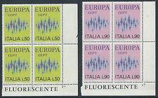 1972 ITALIA EUROPA QUARTINA MNH ** - ED-4