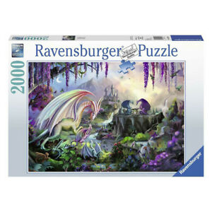 Ravensburger Dragon Valley 2000 Piece Jigsaw Puzzle NEW
