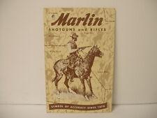 VINTAGE Original Marlin Model 989M2 Carbine Instruction Booklet Hang Tag