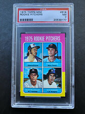 New Listing1975 Topps Mini #618 Rookie Pitchers Psa 7