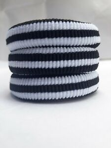Girls Cute Elastic Hair Rope Hair Bands Ponytail Lady Hair Bands White and Black