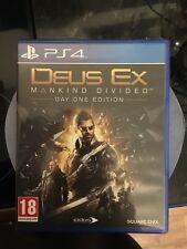 Deus Ex: Mankind Divided (Sony PlayStation 4, 2016)