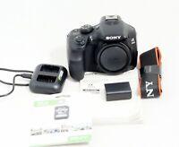 MINT Sony Alpha A3000 Mirrorless Digital Camera 20.1 MP Body ONLY 162 SHUTTER