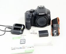 MINT Sony Alpha A3000 Mirrorless Digital Camera 20.1 MP Body ONLY 162 SHUTTER