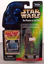 Star Wars PotF Freeze Frame Chewbacca Boushh's Bounty Japan Card Back Kenner '98