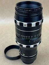 Schneider 150mm f4 Cine-Tele-Xenar C-Mount Lens