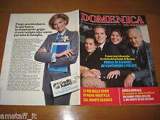 DdC 1986/38=STEPHANIE ALBERTO CAROLINE ALBERTO DI MONACO RANIERI=LOLLOBRIGIDA=