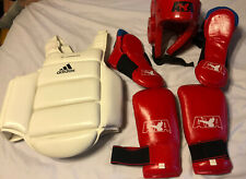 Ata Taekwondo Sparring Gear Unisex Adult M Martial Arts Helmet Vest Gloves Shoe