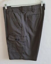 Wrangler Men's Shorts Brown Relaxed Fit Cargo Shorts Pockets Size 38
