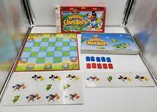 Vintage 1993 Milton Bradley Disneys Mickey Mouse Hoppin' Checkers Game