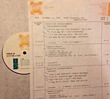 RADIO SHOW:OLD/NEW 12/31/86 EVERLY BROS, TOM JONES,MELANIE, NEIL YOUNG,BOB SEGER
