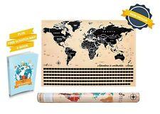 Scratch Off Map By TIROTECHS - NEWScratch Off World Map -Best Scratch Off Map
