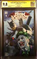 BATMAN WHO LAUGHS GRIM KNIGHT #1 CGC SS 9.8 MIKE MAYHEW VARIANT JOKER DC COMICS