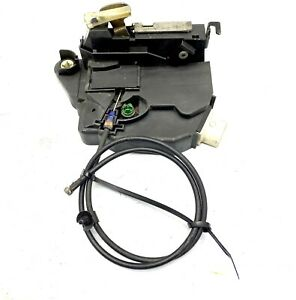 2002-2008 Mini Cooper LH Left Front Door Lock Latch Actuator w/ Cable OEM