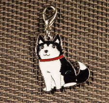 Dog Tag, Siberian Husky Anhänger für Kette, Schlüsselbund, Armband. Hund Schmuck