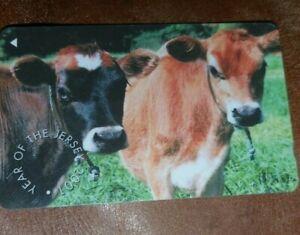"""Jersey Telecoms Phone Card """"2001"""""""