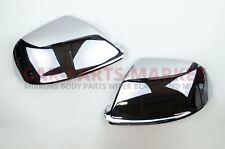 Chrome Wing door mirror cover cap fit for Audi Q7 2010-2015