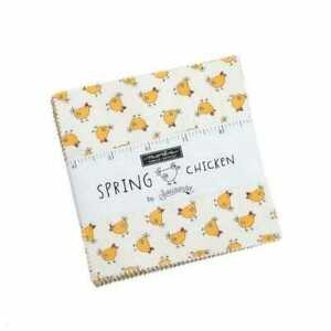 Moda Spring Chicken Charm Pack Fabric by Sweetwater Quilting Sewing Craft