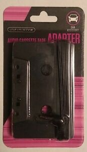 Infinitive Audio Cassette Tape Auxiliary Adapter - NEW