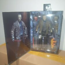 "NECA FREDDY vs JASON (2003) ULTIMATE JASON VOORHEES 7"" SCALE ACTION FIGURE 2019"