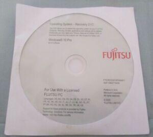 Fujitsu Win 10 Pro Operating System Recovery DVD 64-bit NEW UN-OPENED