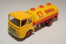 N SOLIDO SAVIEM TRUCK CAMION CITERNE TANKER SHELL N MINT CONDITION