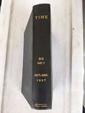 Time magazine book (multiple volumes 1937)