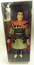 Deagostini Disney Porcelain Li Shang doll from movie Disney Mulan 2004 boxed