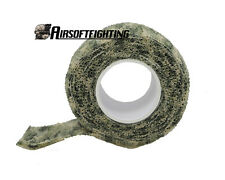 Military 1 Roll Camo Stretch Bandage Camping Hunting Camouflage Tape (4.5M) WD