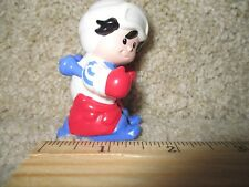 Fisher Price Little People Winter Olympic USA Team Skier Downhill ski snow sport