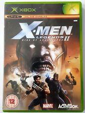 X-Men Legends II: Rise Of Apocalypse Xbox Original Classic Complet avec Manuel