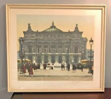 Palais Garnier Paris Georges P Guinegault Rare Signed LTD Aquatint Etching 21X18