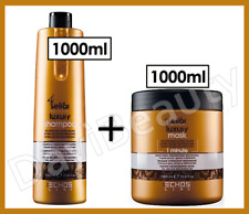 ECHOSLINE SELIAR LUXURY - Shampoo(1000ml) + Maschera(1000ml) Capelli Secchi