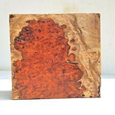 Nice Amboyna Burl Exotic Wood Bowl Blanks Lumber Turning Crafts Gun Grips