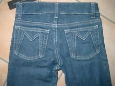 (c352) Little Marc Jacobs Girls Capri Jeans 5 Pocket Pantaloni LOGO RICAMATO gr.140