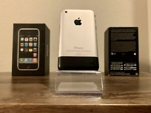 📱Apple iPhone 1st Generation - 8GB - A1203 - Excellent Condition - Matching Box