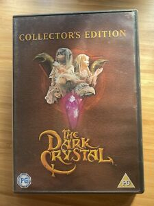 The Dark Crystal CLASSIC Cult Film DVD Collectors Edition REGION 2 FREE POSTAGE